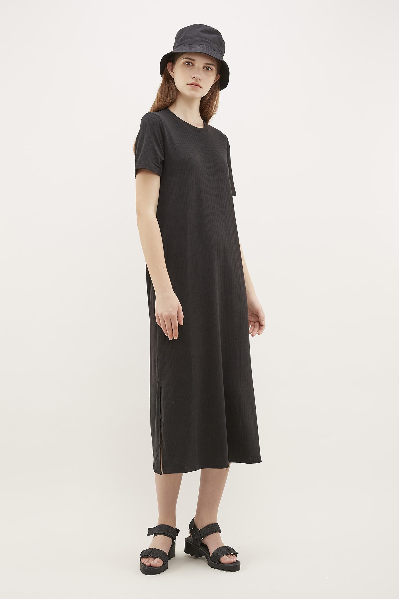 Celmira Ribbed-Tee Dress