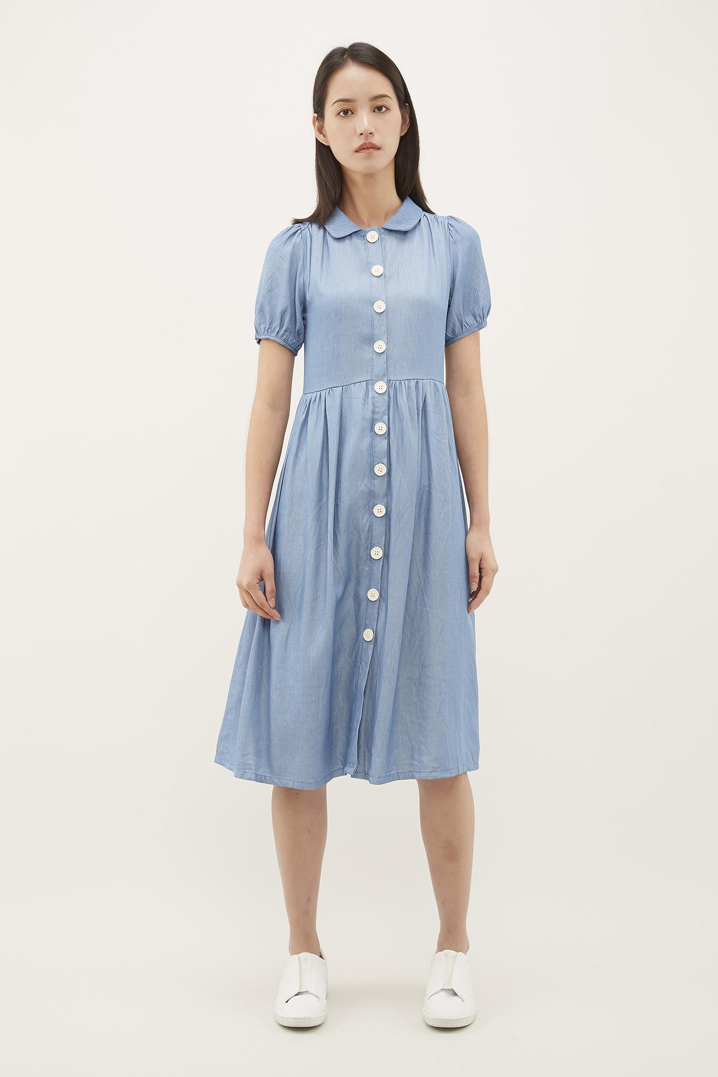 Leimy Collared Dress