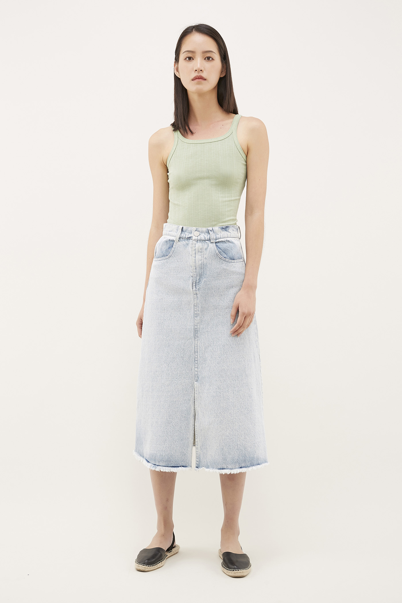 Adda Denim Skirt