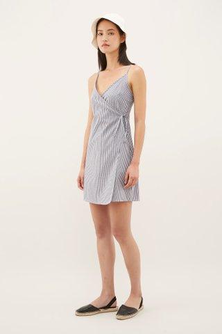 Tara Wrap Mini Dress