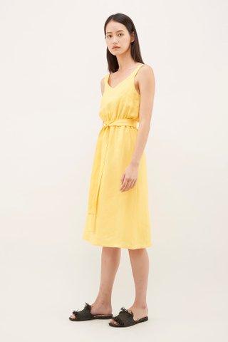 Galenn Gathered-Waist Dress