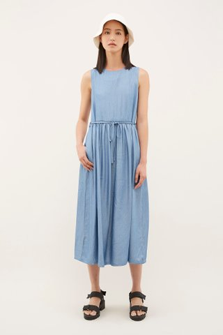 Keir Chambray Maxi Dress