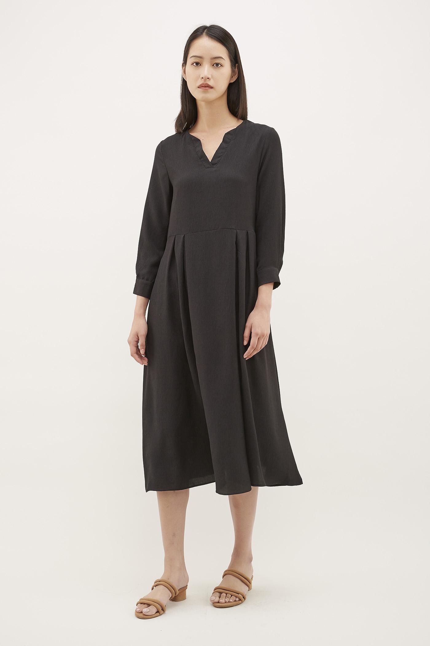 Jerome Notch-Neck Dress
