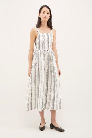 Rowen Square-neck Dress