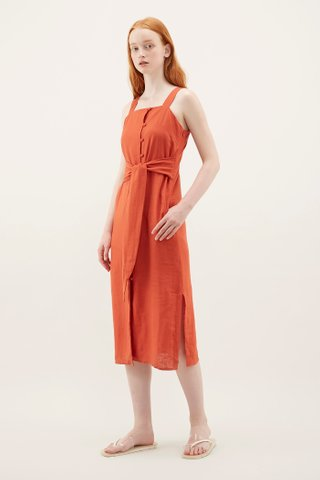Erikson Square-neck Dress