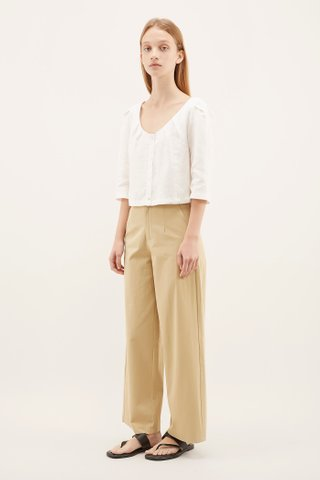 Cydney Wide-neck Blouse