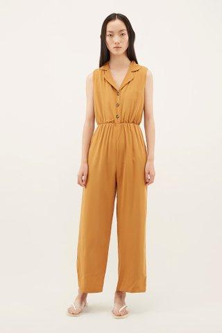 Jozie Cinched-waist Jumpsuit