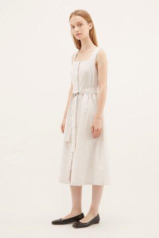 Karie Square-neck Dress