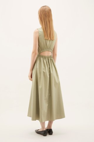 Elson Fitted-waist Dress