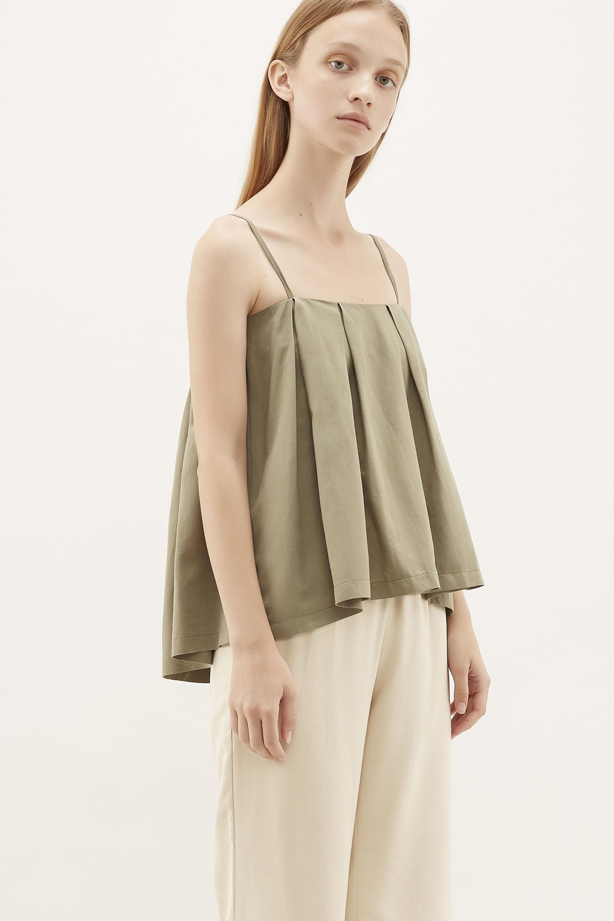 Liron Pleated Camisole