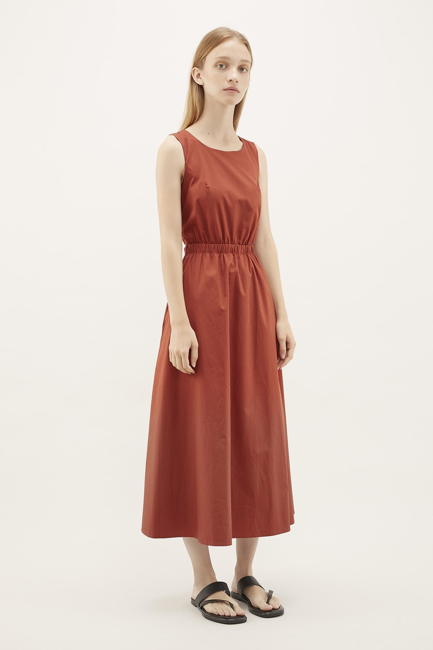 Elson Fitted-waist Dress