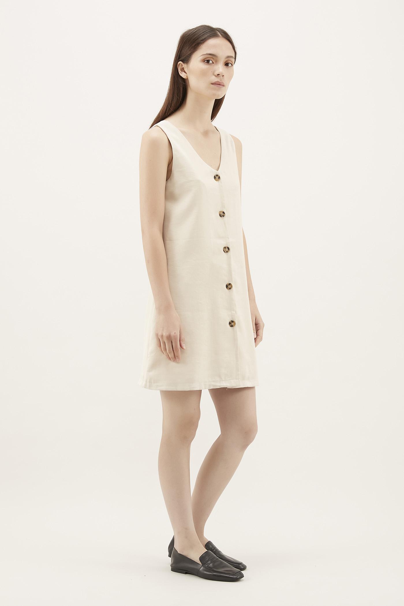 Deniro V-neck Mini Dress
