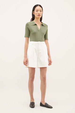 Cheywon Ribbed Knit Shirt
