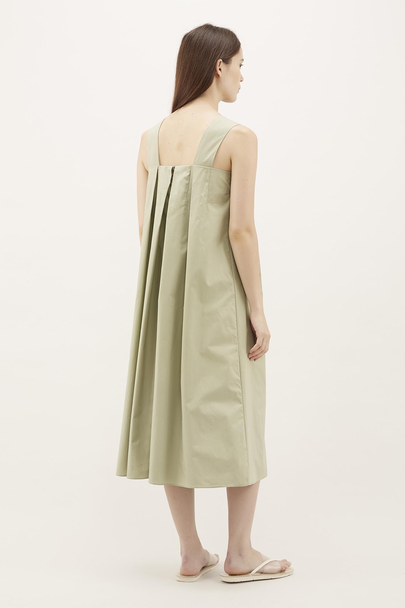 Pichi Pleated Maxi Dress