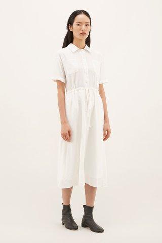 Karelle Drawstring Shirtdress