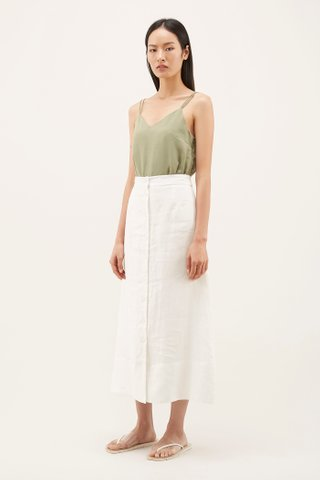 Mylie Button-through Skirt