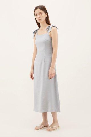 Aileen Tie-strap Midi Dress