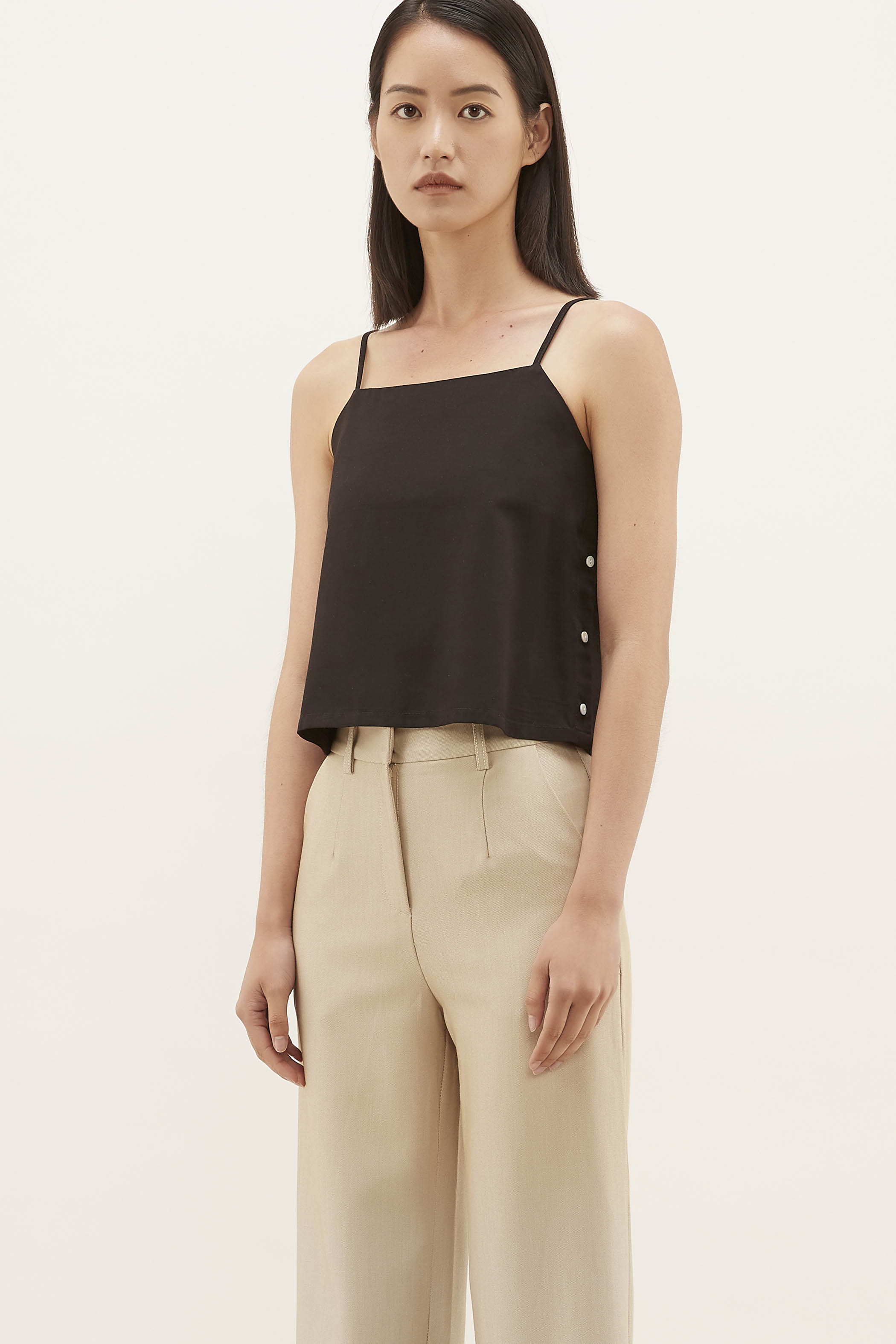 Danille Side-button Camisole