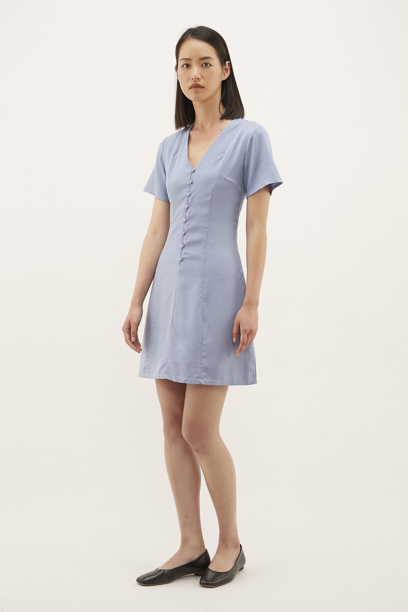 Shanley Back-laced Dress