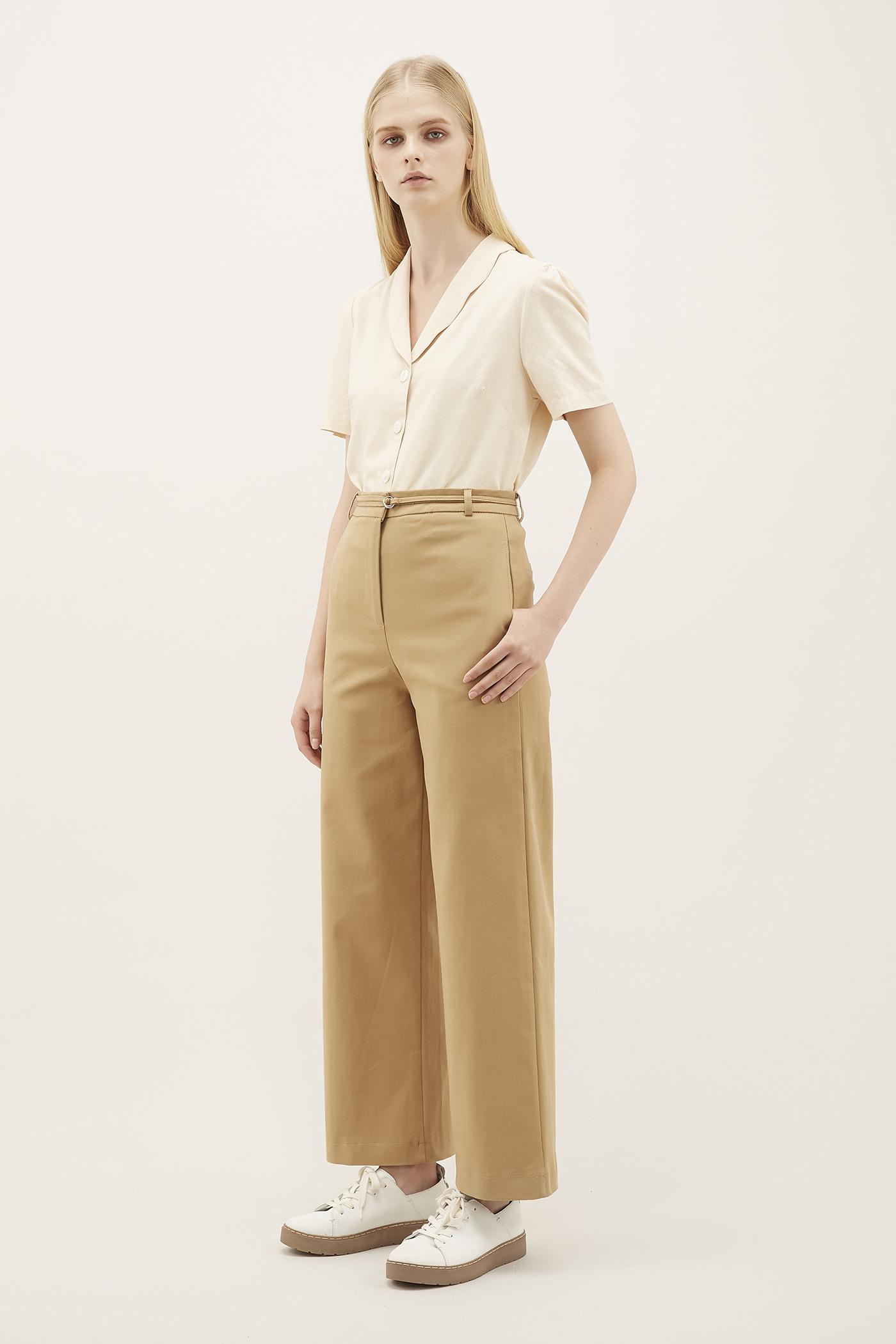 Belva Strap-tie Trousers