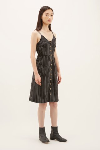 Roselyn Pinstripe Dress