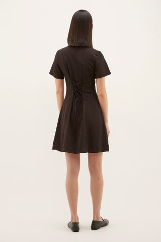 Shanley Back-laced Dress
