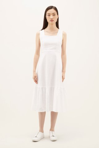Shae Square-neck Dress