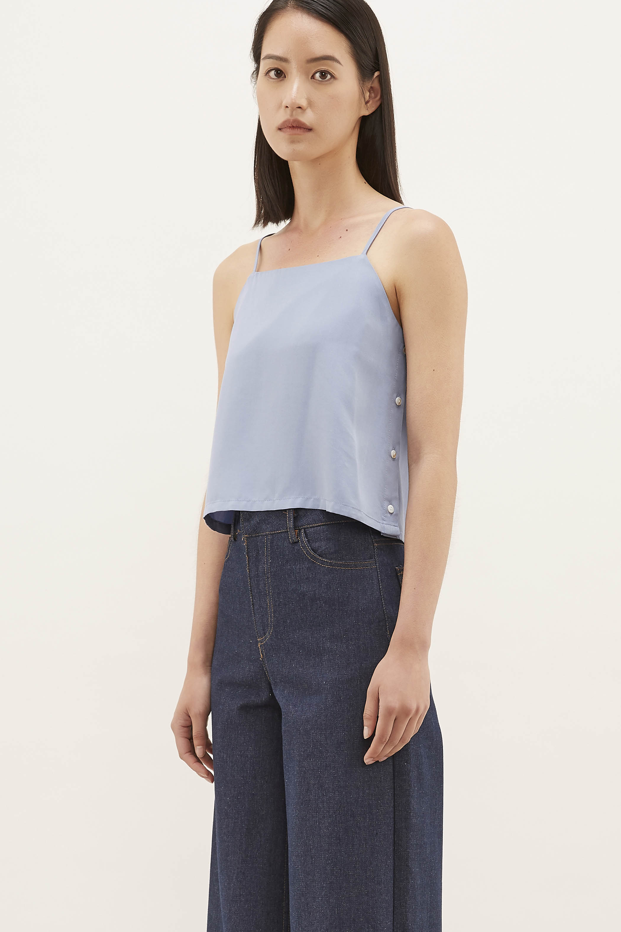 Danille Side-button Camisole