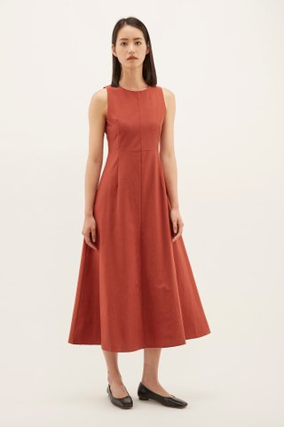 Joan Fitted Maxi Dress