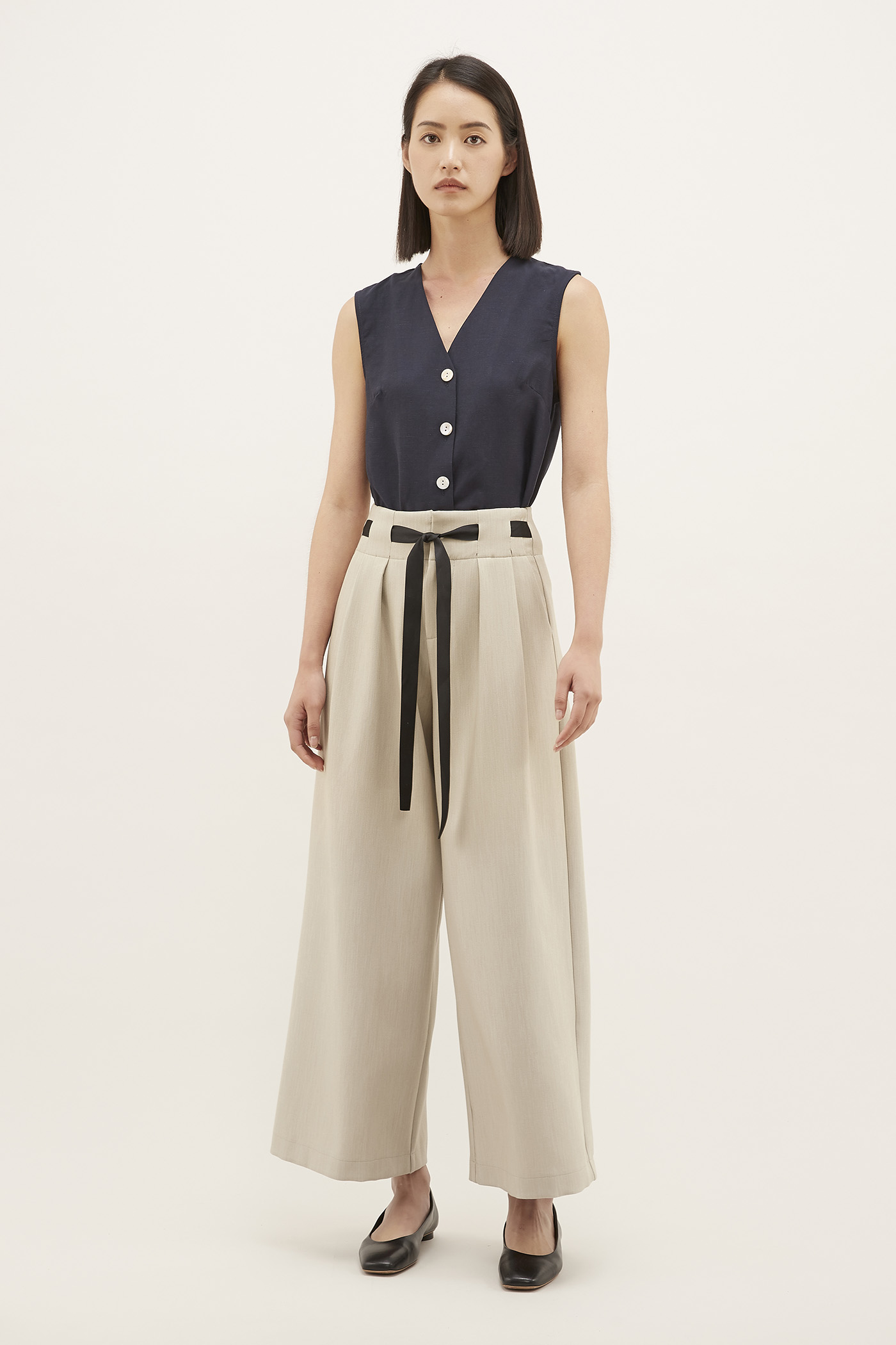 Holly Bow-tie Pants
