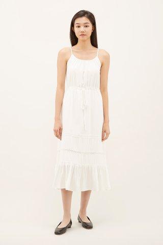 Arely Crochet-insert Dress