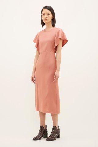 Tyonna Wide-sleeve Dress