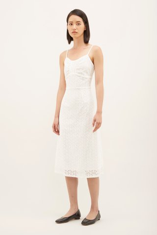 Shailyn Broderie Anglaise Dress