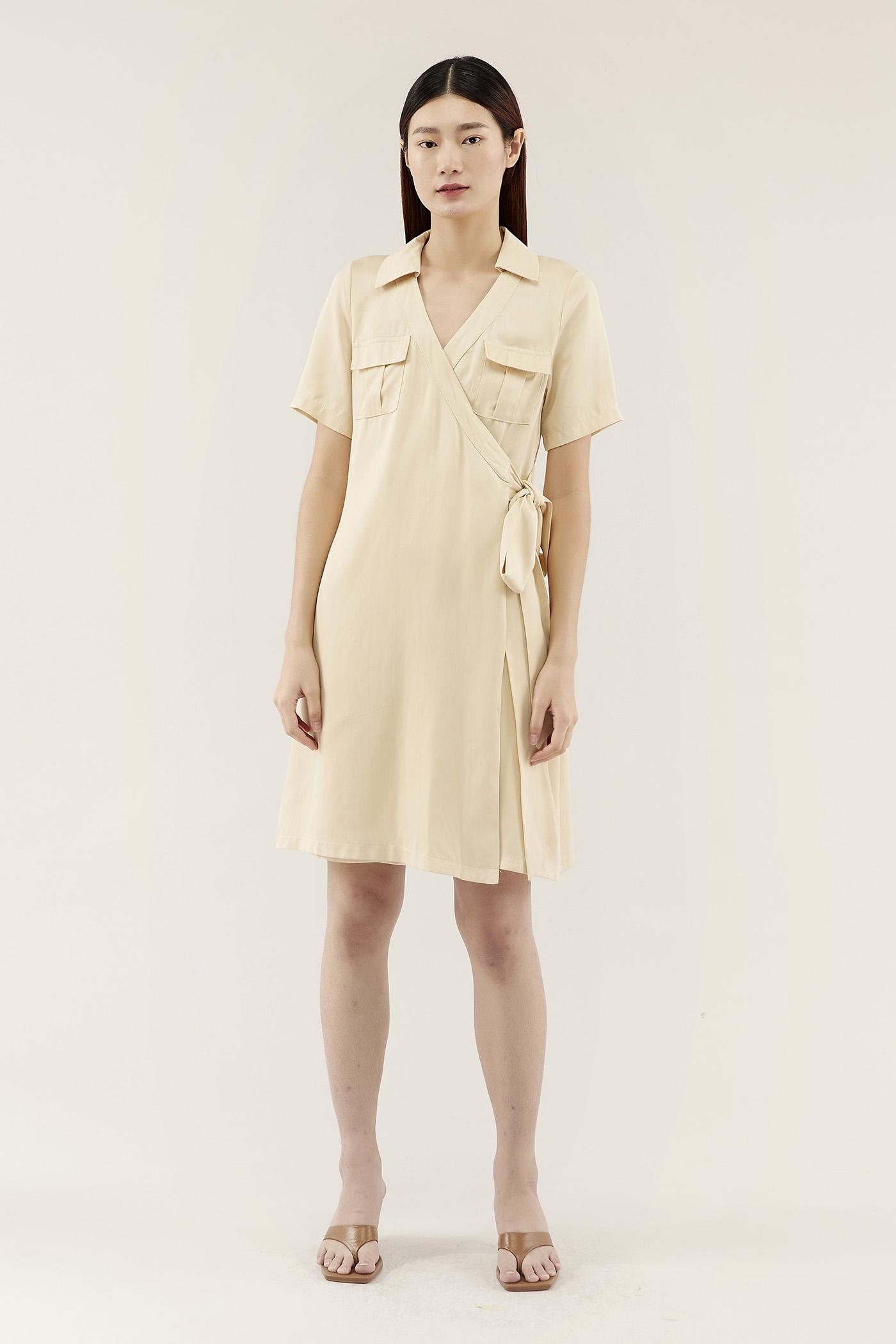 Colwin Wrap Shirtdress