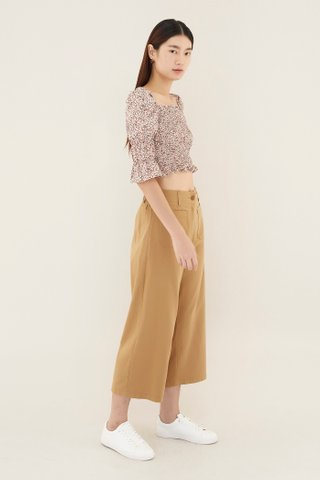 Raiven Smock Crop Top