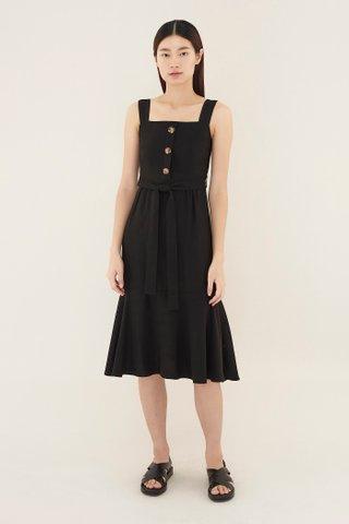 Deveon Square-neck Dress