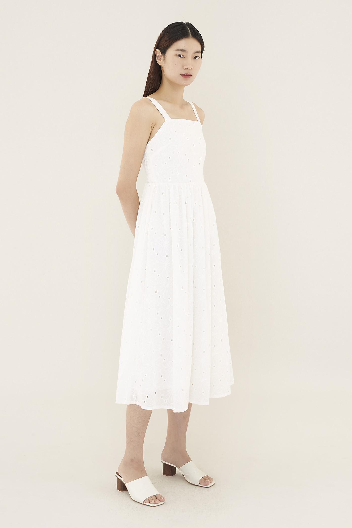Roman Broderie Dress
