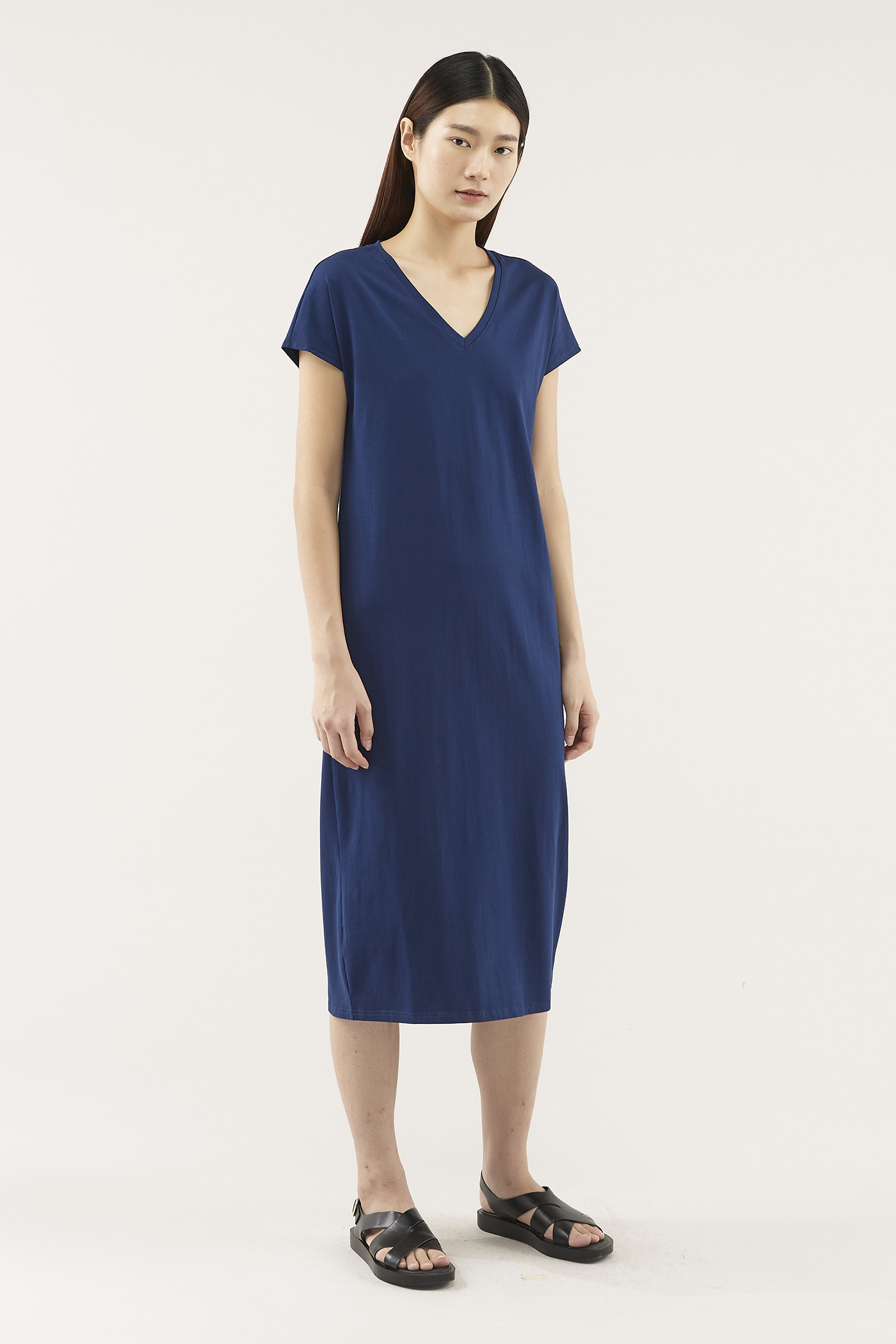 Estar V-neck Dress