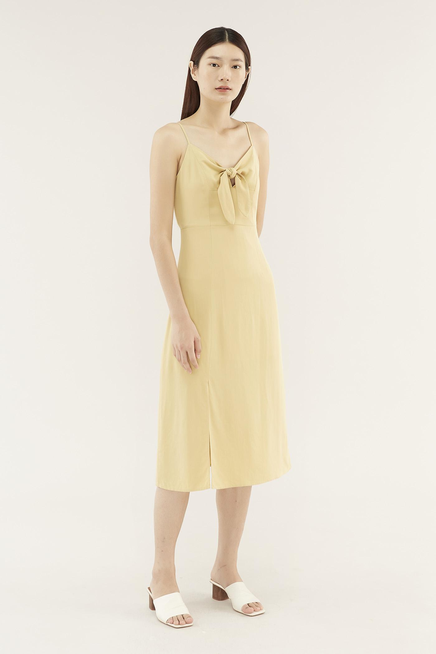 Daisey Front-tie Dress