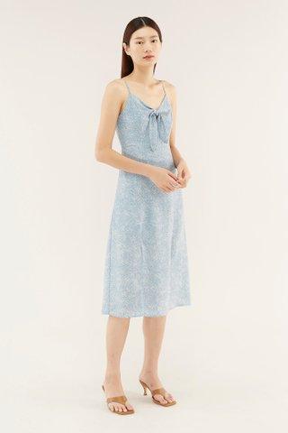 Deonne Front-tie Dress