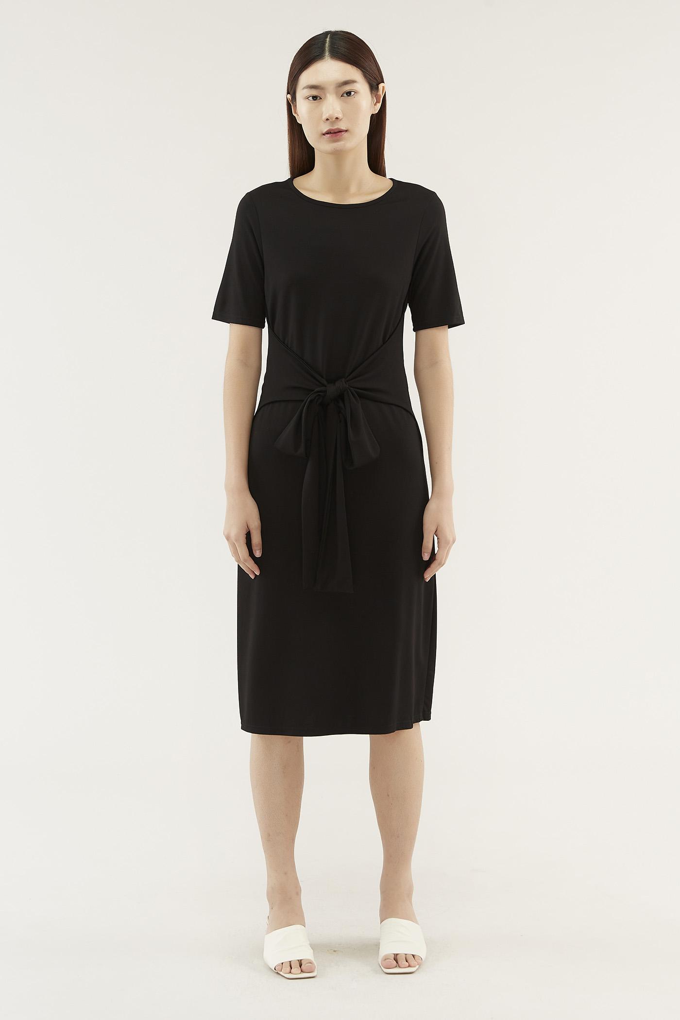 Breona Sash-tie Dress