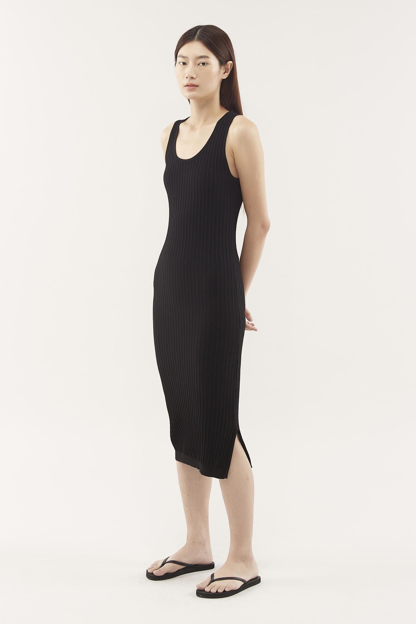 Yoana Ribbed Dress