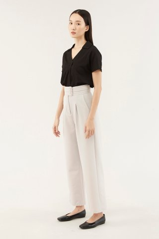 Danka Pleated-waist Pants