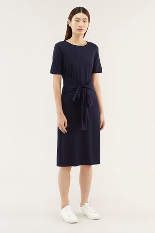 Breona Sash-tie Dress