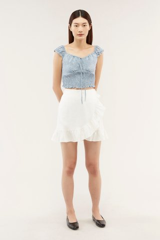 Marice Ruffle-trim Skirt