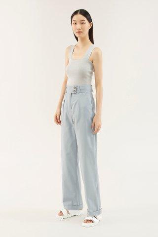 Zenda Cuff-hem Pants