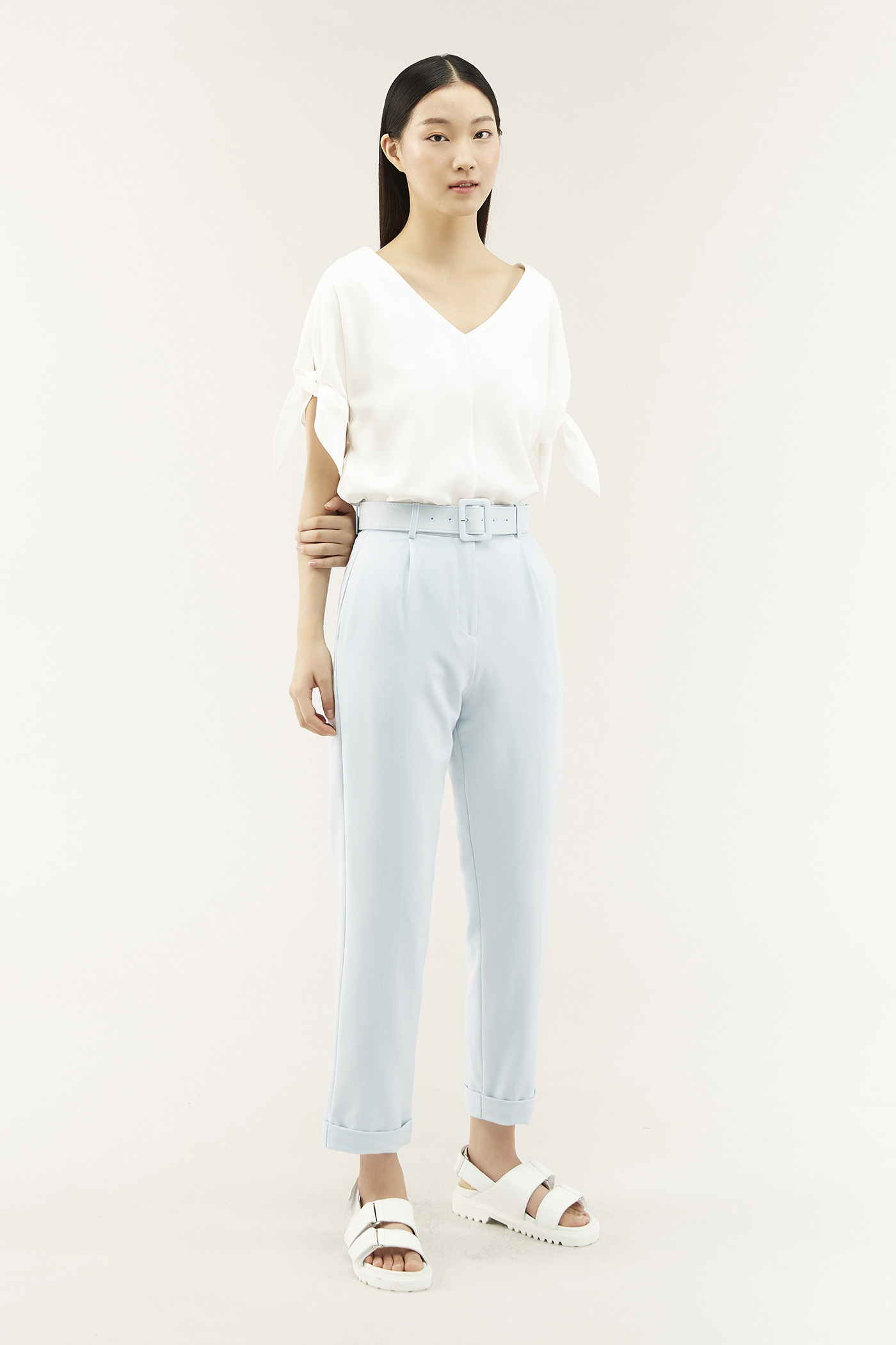 Adyna Belted Pants