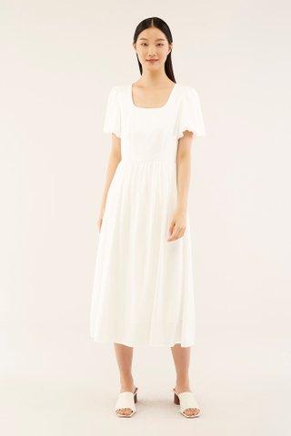 Relene Puff-sleeve Dress