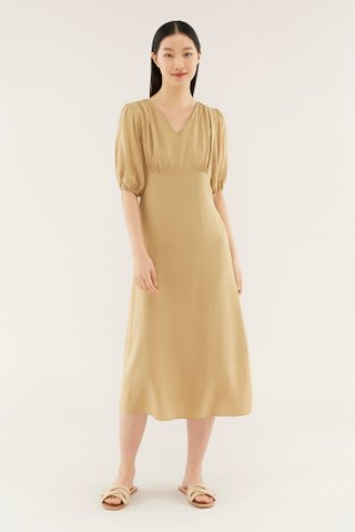 Ruzene V-neck Dress