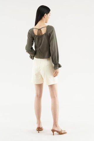 Davian Double-pleat Shorts
